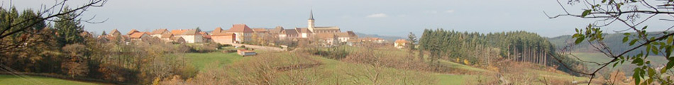 Montmelard view from afar